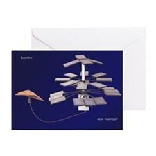 Cute Solar powered Greeting Cards (Pk of 10)