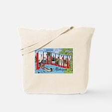 Petoskey Michigan Greetings Tote Bag