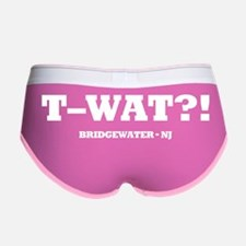 twat_2_BLK Women's Boy Brief