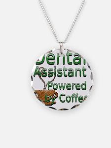 coffee dental assistnat Necklace