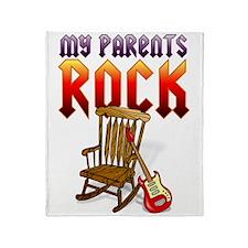 my_parents_rock Throw Blanket