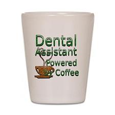 coffee dental assistnat Shot Glass