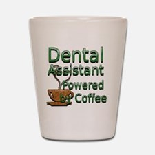 coffee dental assistnat Shot Glass
