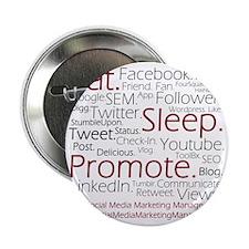 "Social Media Marketing Manager 2.25"" Button"