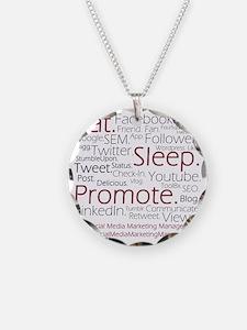 Social Media Marketing Manag Necklace