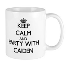 Keep Calm and Party with Caiden Mugs