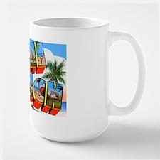 Miami Beach Florida Greetings Mug