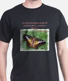 Butterfly BC Ribbon B T-Shirt