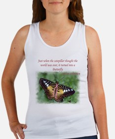 Butterfly BC Ribbon B Women's Tank Top