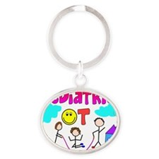 Pediatric OT Oval Keychain