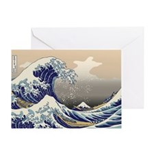 Hokusai_Great_Wave Greeting Card