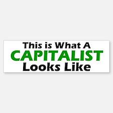 Capitalist Bumper Bumper Bumper Sticker