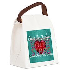 dwtsjudges1 Canvas Lunch Bag