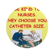 nurse joke Ornament (Round)
