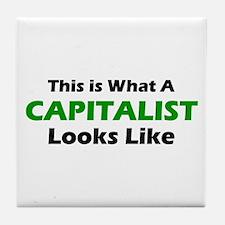 Capitalist Tile Coaster