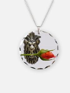 gargoyle rose Necklace