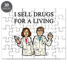 funny pharmacist joke gifts t-shirts Puzzle