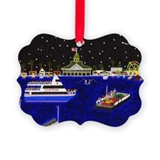 Legendary Harbor Picture Ornament