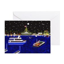 Legendary Harbor Greeting Card