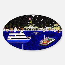Legendary Harbor Sticker (Oval)