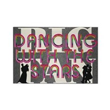dancingwstarsfan2a Rectangle Magnet