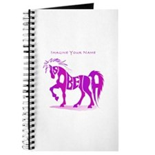 Isabella pink horse Journal