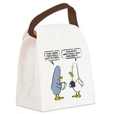95 single panel Canvas Lunch Bag