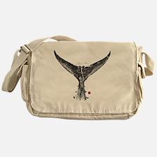 tunatail shirt Messenger Bag
