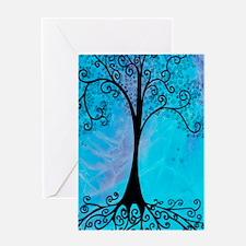 Blue Tree Journal Greeting Card
