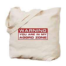 Aggro Zone Tote Bag