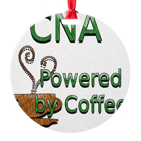 coffee cna Round Ornament