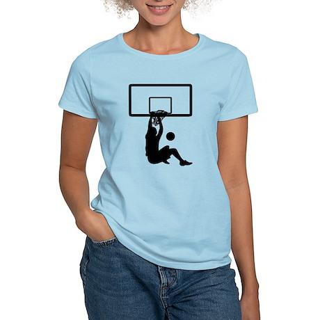 Basketball Women's Pink T-Shirt