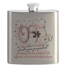 ot puzzle pink Flask