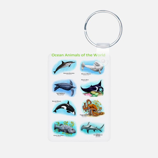 Ocean Animals Keychains