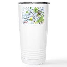 Dragon Cave with Sloth Travel Mug