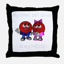 We are Heros 2 Throw Pillow