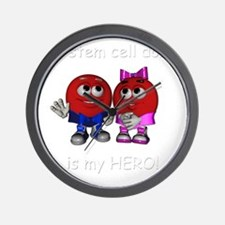 We are Heros 2 Wall Clock