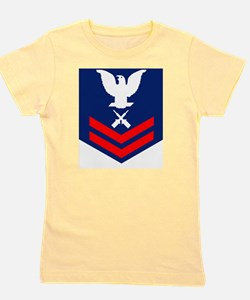 USCG-Rank-GM2 Girl's Tee