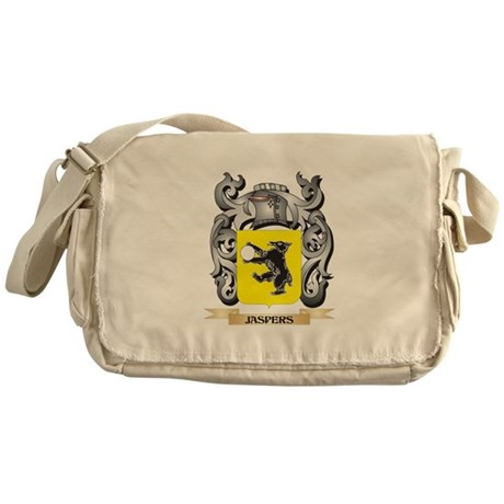 Jaspers Coat of Arms - Family Crest Messenger Bag