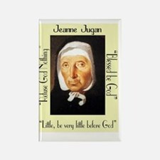 Jeanne Jugan 3 quotes YELLOW Rectangle Magnet