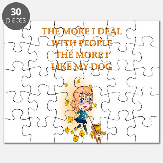 geek dog philosophy gists t-shirts Puzzle