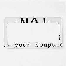 Computer2 License Plate Holder