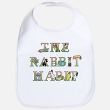 Rabbit Habit Baby Bib