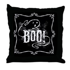 boo-ghost_t Throw Pillow