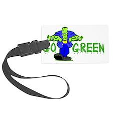 Go_Green_Frank_dark Luggage Tag