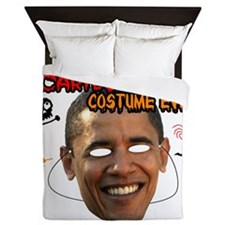 sacariest_costume_obama_light Queen Duvet