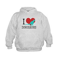 I Love Dinosaurs Hoodie