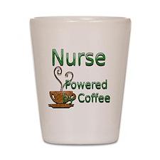 coffee nurse Shot Glass