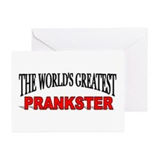 """The World's Greatest Prankster"" Greeting Cards (P"