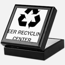 M_beer recycling center Keepsake Box